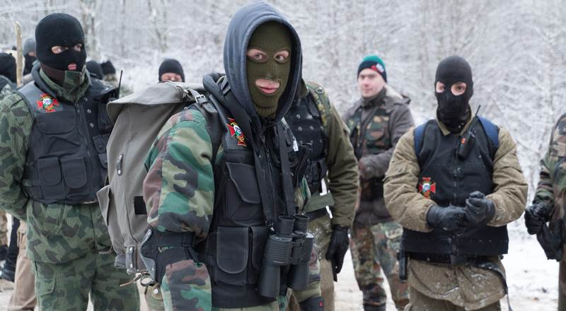 Reportage on NBC News about the border patrols of Vassil Levski Military Union - BNO Shipka
