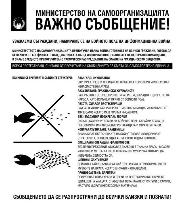 Министерство на Самоорганизацията